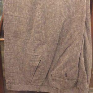 Perry Ellis Flat Front Pants, 40x30